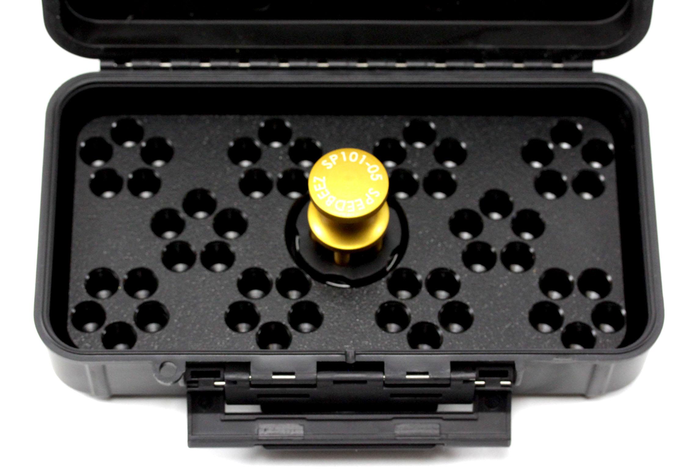 Speed Beez® Ruger SP101 38 Special 357 Magnum 5 Shot Speedloader, Loading  Block, Case - Bundle