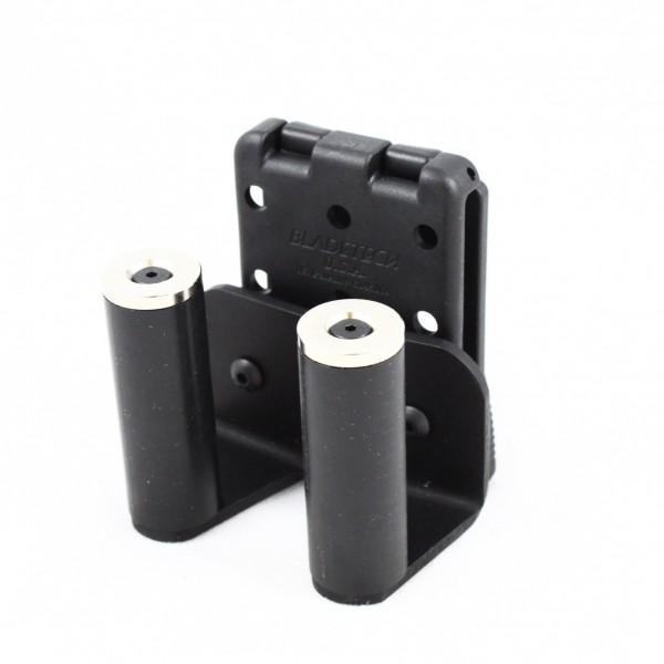 TEK-LOK 627 Moon Clip Belt Rack 2 Post (Fits New Smith & Wesson 929 9mm 8 Shot and 627 38.357 8 Shot)