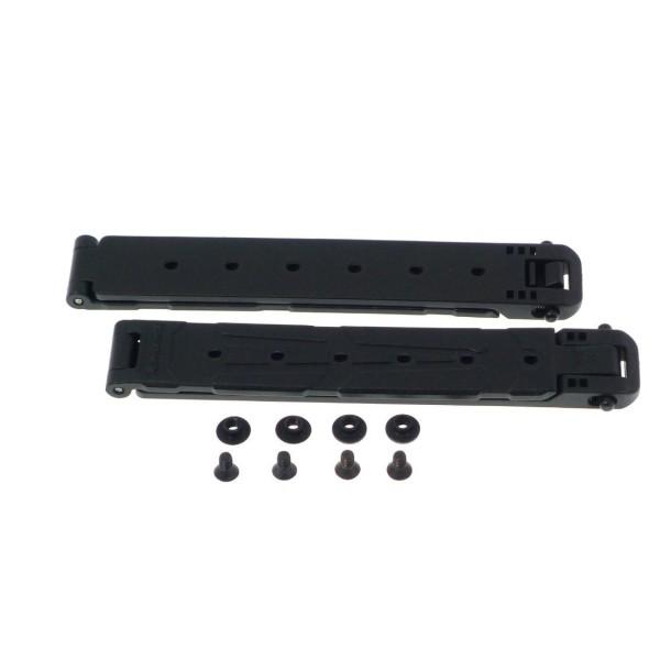 Blade-Tech Gen 3 Molle-Lok Large Black (Pair) with Hardware