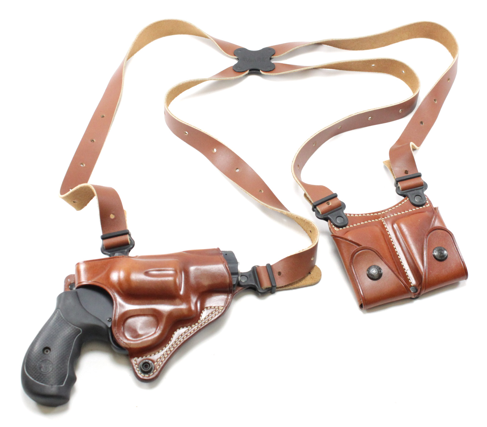 Galco Miami Classic Shoulder Holster System S&W N Frame 4 Inch (627 ...