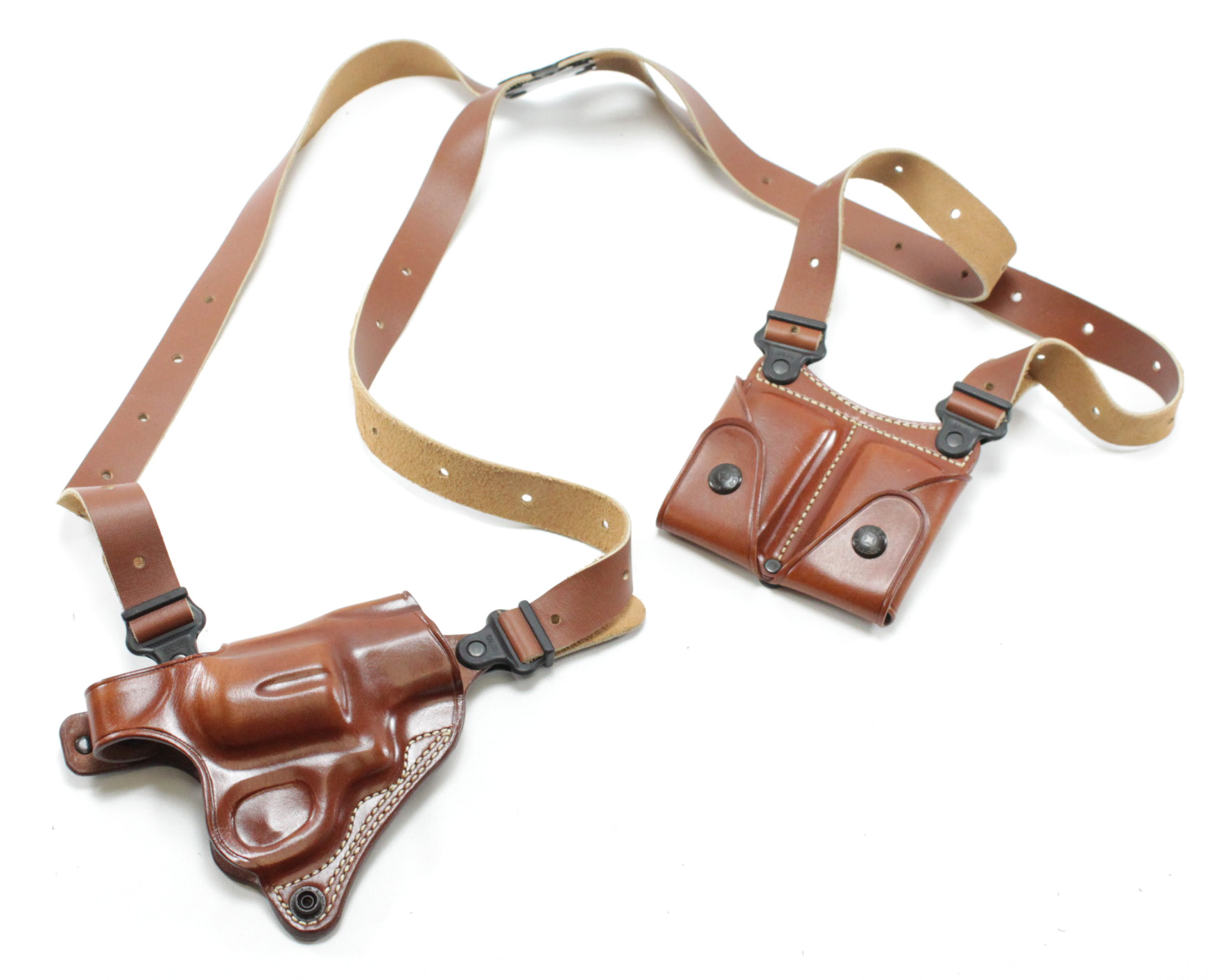 Galco MC126 Miami Classic Shoulder Holster System S&W N Frame 4 Inch (610,  627, 626, 629, 327)