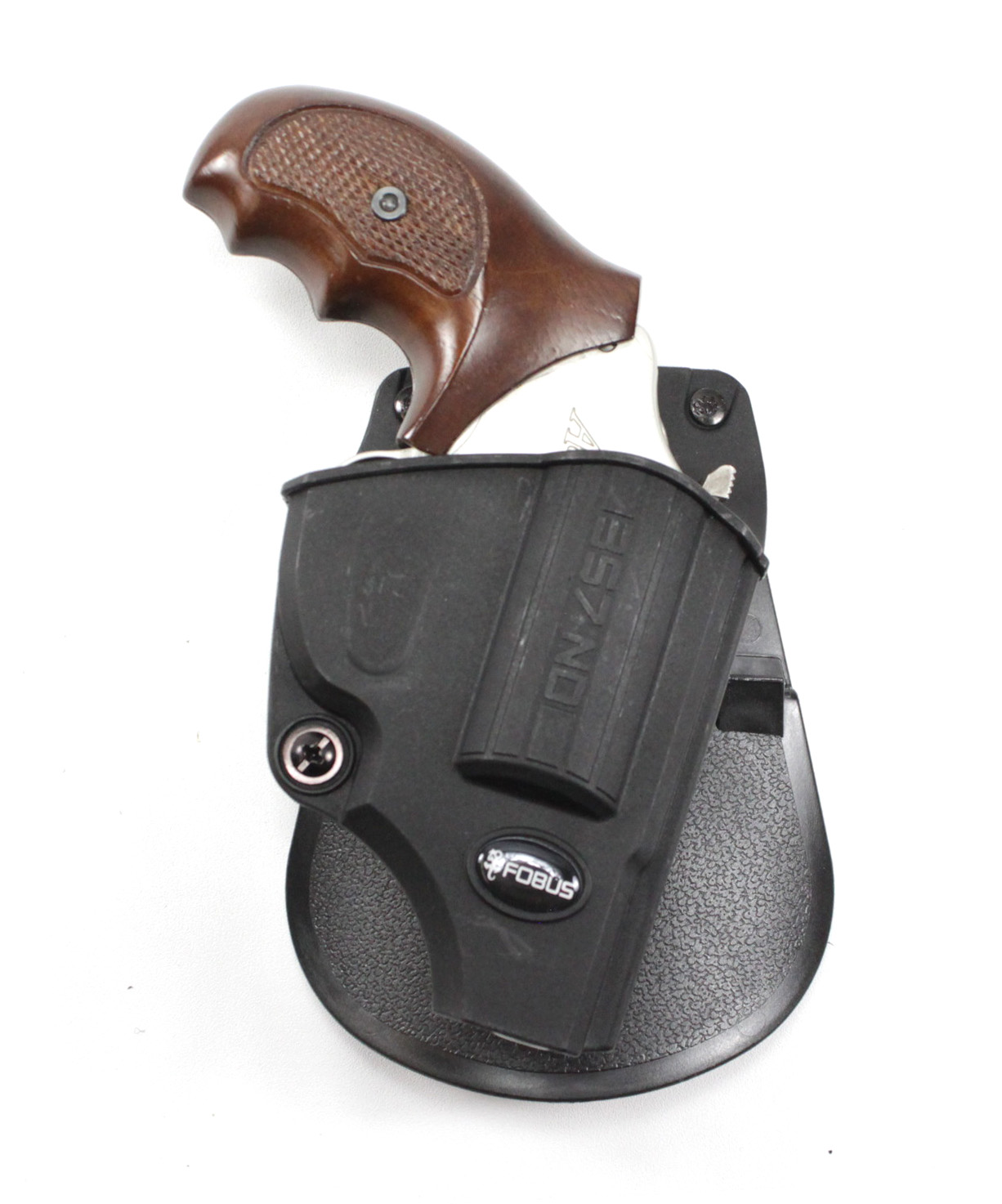 Fobus Paddle Holster Smith & Wesson J-Frame, Charter Arms, Rossi-With  Retention Adjustment Screw