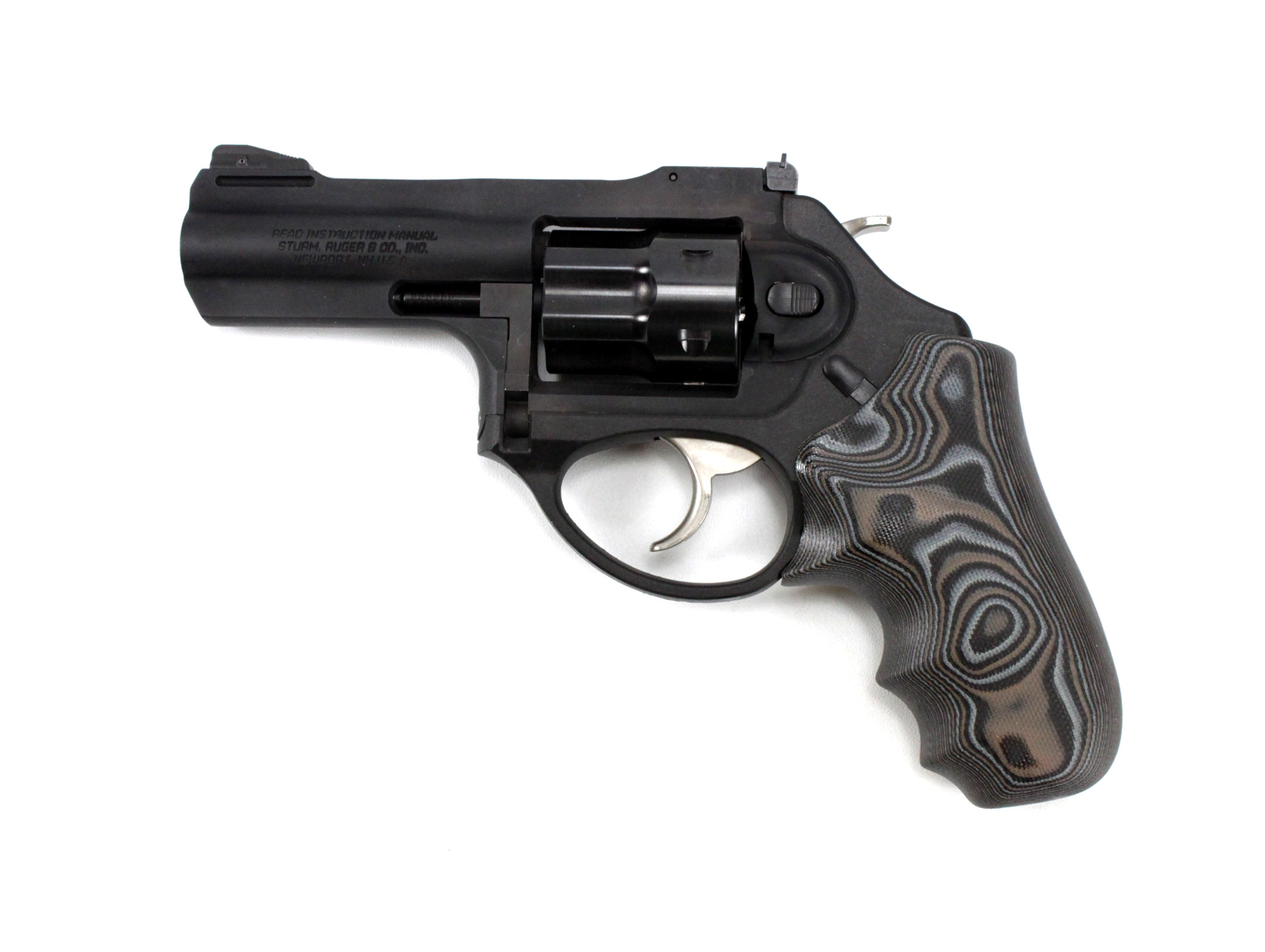 Hogue Extreme™ Series G10 LCR, LCRx Grips