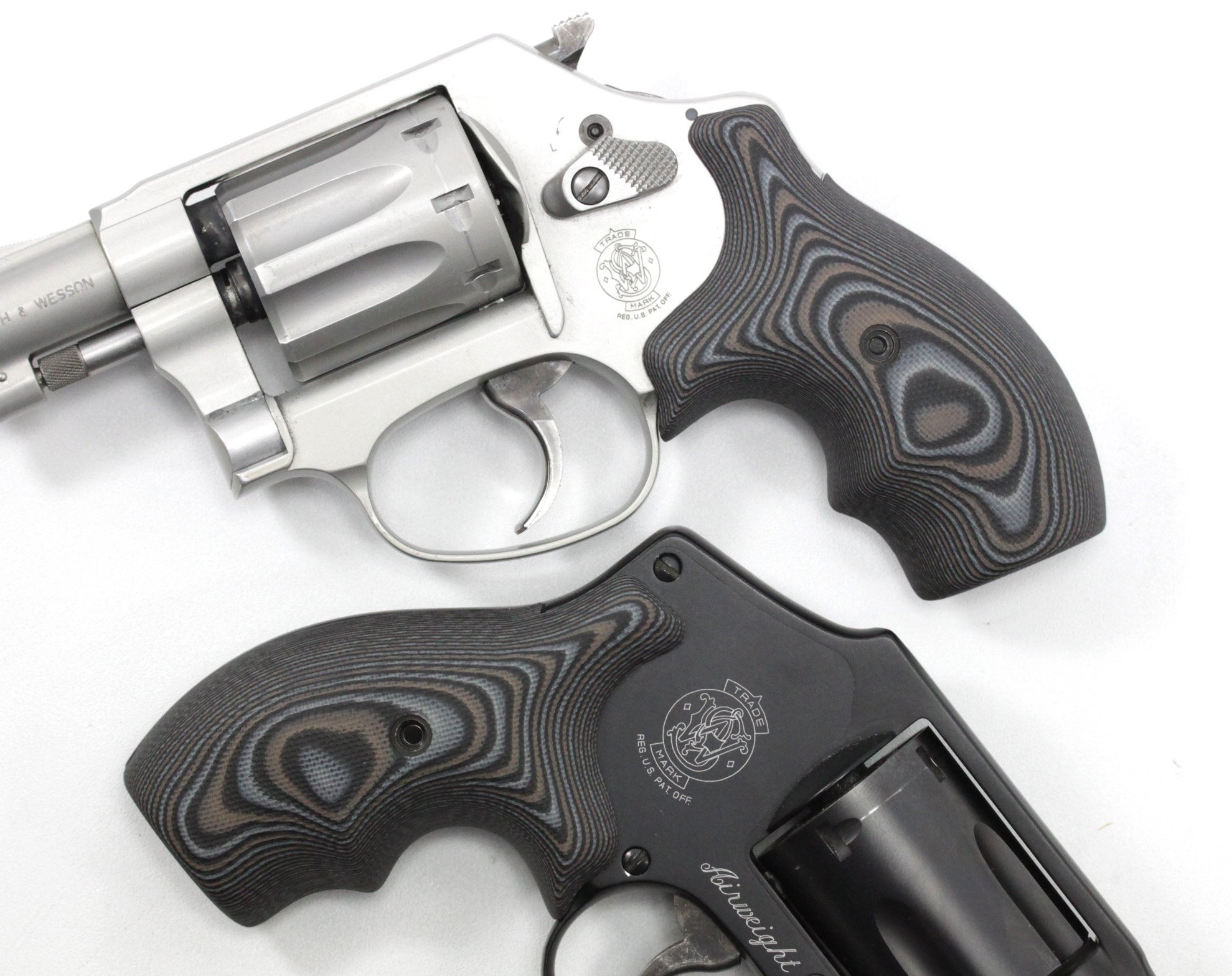 Hogue Extreme Series G10 Smith Wesson J Frame Grips