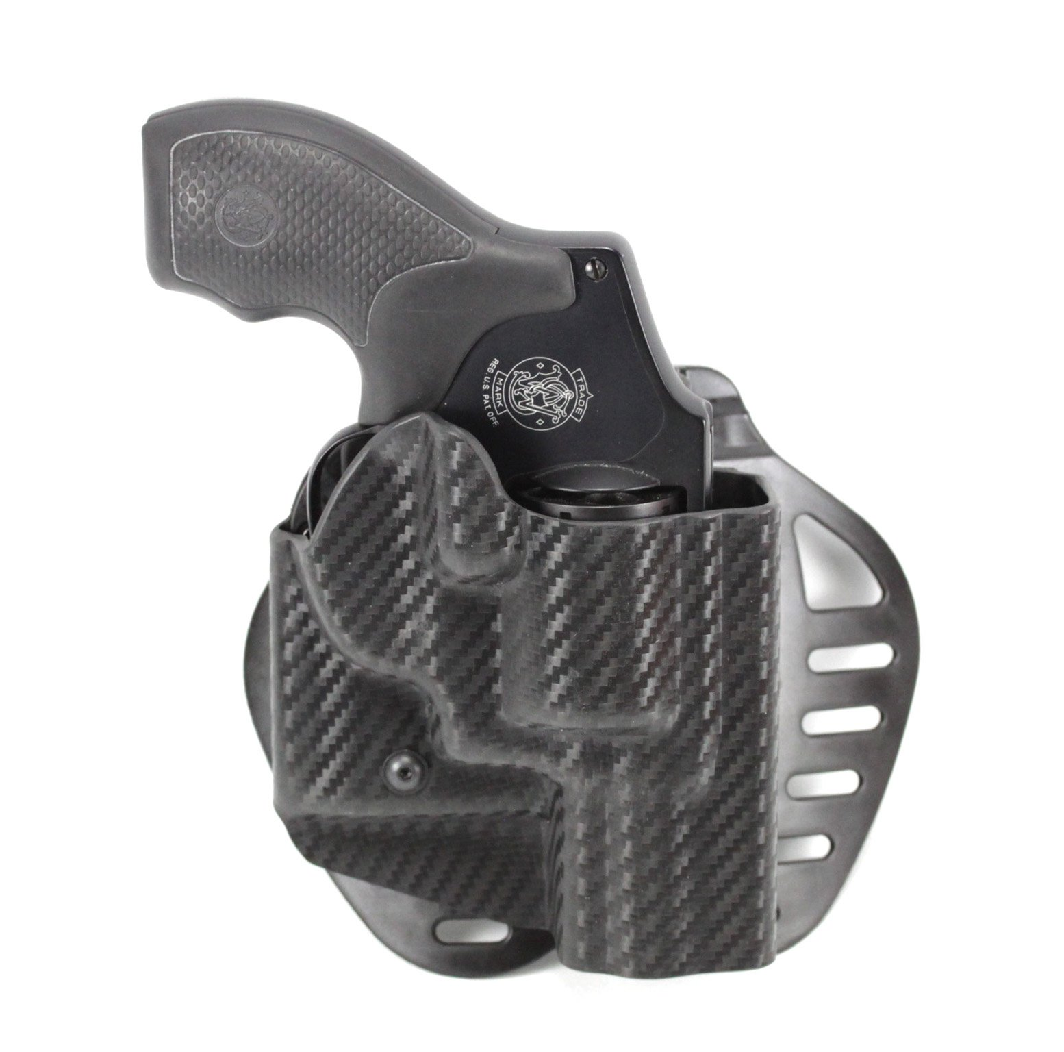 Hogue ARS Stage 1 - Carry Holster Smith Wesson J-Frame Right Hand CF Weave