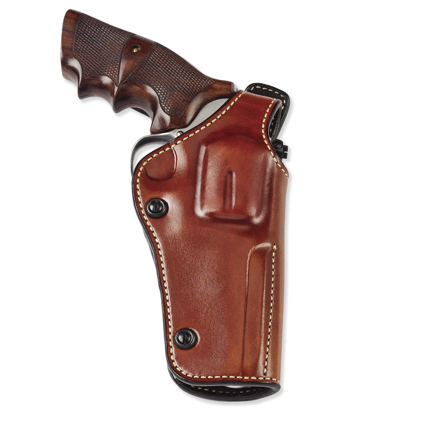 Galco Phoenix 4 Inch Revolver Holster Fits: Colt, Dan Wesson, Ruger GP100,  Smith & Wesson L Frame, Tauras (PHX104)