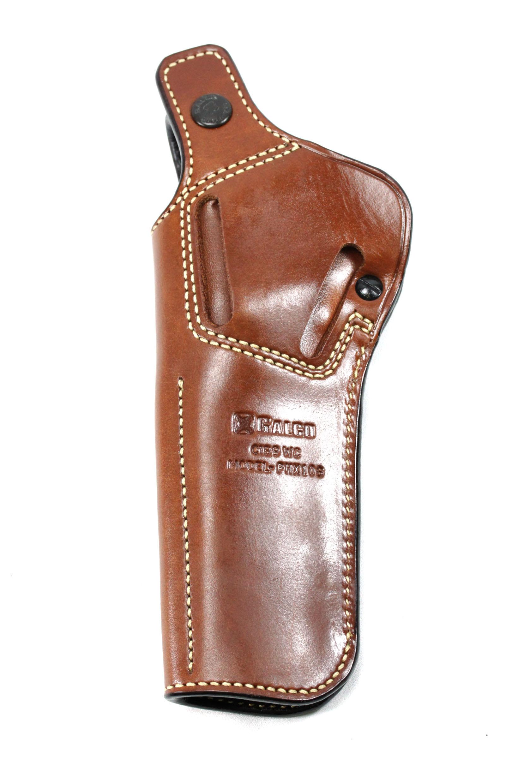 Ruger Mark II All Models 5.5 or 6.0 inch Custom Belt Holster// Sportsman/'s Black