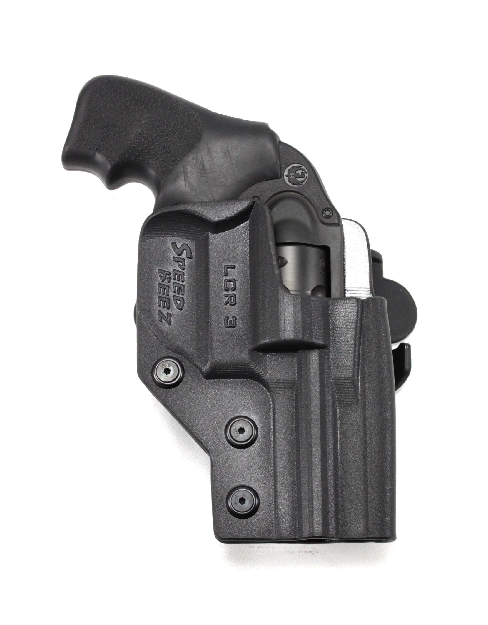 SPEED BEEZ® Ruger LCR 3 Inch Tactical Revolver Holster Outside the Waist  Band OWB (Fits any LCR up to 3 Inch Barrel)