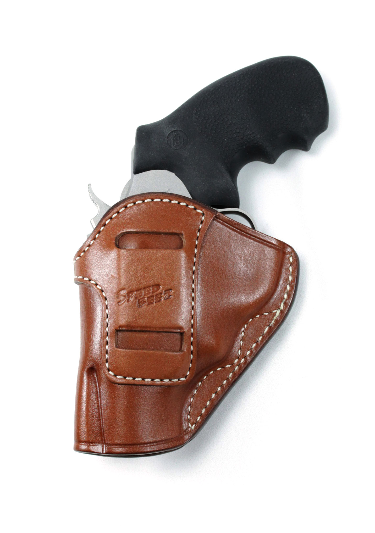 SPEED BEEZ® Leather Holster for Inside the Waist Band (IWB) Concealment -  Revlover