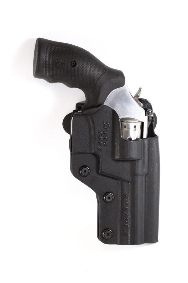 SPEED BEEZ® Outside the Waist Band 617 4 Inch Tactical Revolver Holster (Fits any Smith & Wesson 4 Inch K-Frame)