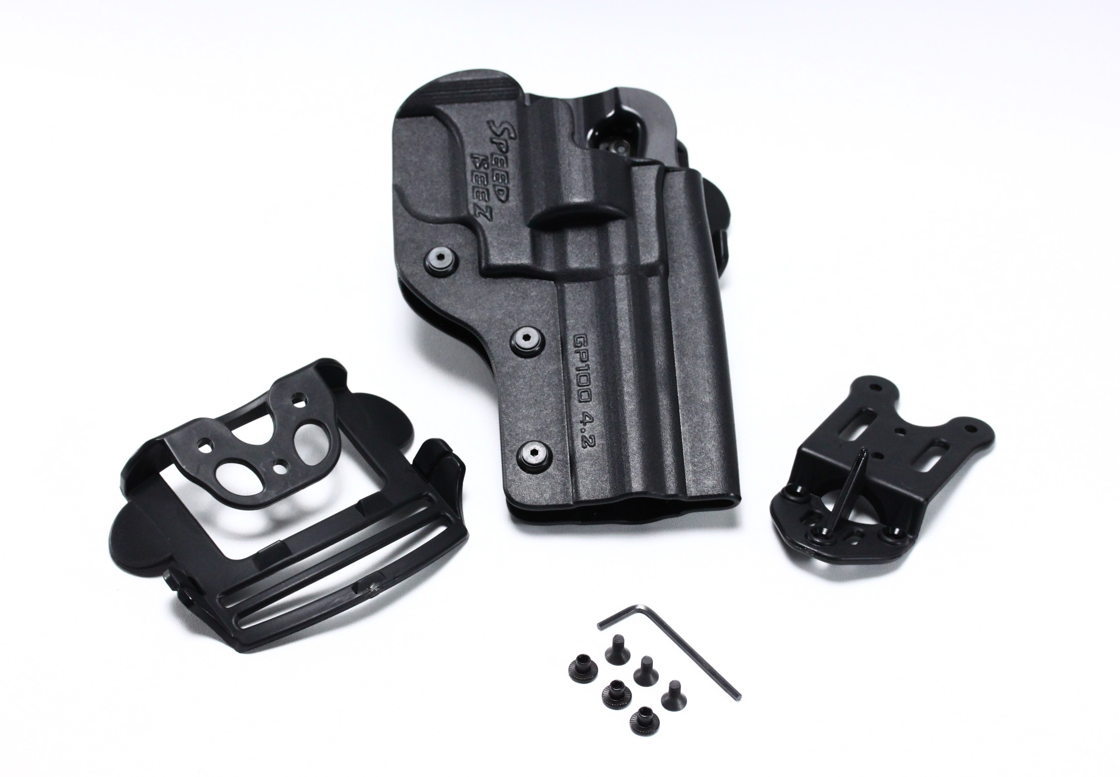 SPEED BEEZ® Ruger GP-100 4 2 Inch Tactical Revolver Holster Outside the  Waist Band OWB (Fits any Ruger GP100 up to 4 2 Inch Barrel)