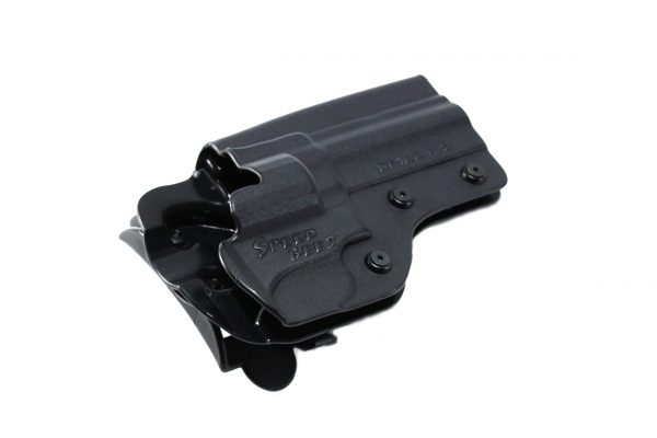 SPEED BEEZ® Ruger GP-100 4.2 Inch Tactical Revolver Holster Outside the Waist Band OWB (Fits any Ruger GP100 up to 4.2 Inch Barrel)