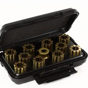 SPEED BEEZ® Taurus Tracker 991 9 Shot 22 Magnum Speedloader, Loading Block, Case - Bundle