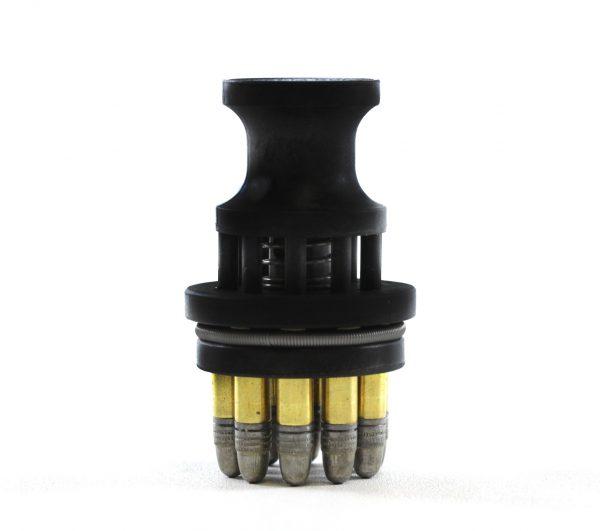 SPEED BEEZ® Smith & Wesson 617 Speed Loader 10 Shot Black Polymer Speedloader