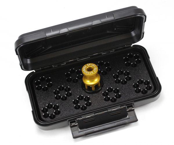 SPEED BEEZ® Ruger SP101 327 FED 6 Shot Speedloader, Loading Block, Case - Bundle