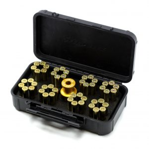 SPEED BEEZ® Smith & Wesson .38 Special 357 Magnum (Model 10, 66) K Frame Six-Shot Speedloader, Loading Block, Case - Bundle