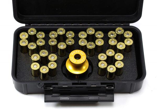 SPEED BEEZ® Smith & Wesson 44 Magnum N Frame (Model 629) 6 Shot Loading Block and Case Speed Loader Value Pack
